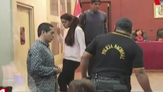 Fernanda Lora y Marco Arenas volvieron a verse las caras en juicio oral