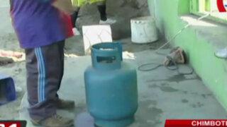 Precio de gas doméstico y GLP se incrementa en el interior del país