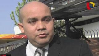 Roy Gates defiende actitud de Nadine Heredia ante comisión Belaunde Lossio
