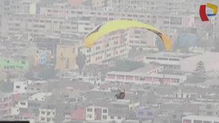 Lima desde el cielo: conoce el 'parapuerto' del Cerro San Cristóbal