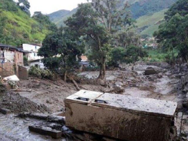 Asciende a 92 el número de muertos por avalancha en Colombia