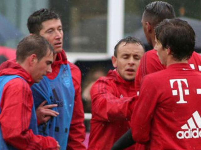 Boateng y Lewandowski, a punto de irse a las manos en pleno entrenamiento