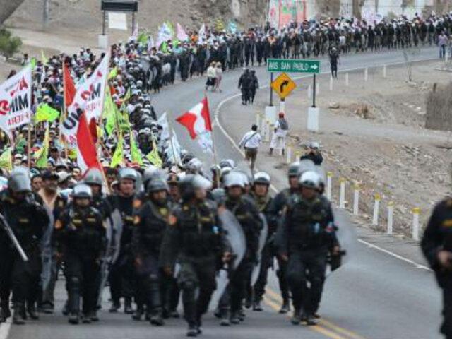 Tía María: Defensoría señala que protestas perjudican a más de 4 mil escolares