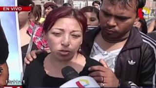 Cercado de Lima: familiares de joven violada y asesinada piden justicia