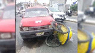 Mujer quedó en estado de coma tras ser atropellada por policía ebrio en Trujillo