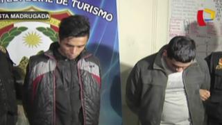 Breña: Policía capturó a 'bujieros' que asaltaban a turistas y taxistas