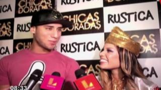 Andrea sigue 'facturando': 'Jota' visitó a la modelo a evento
