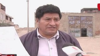 VMT: mafia de invasores desalojan a dueño de terreno