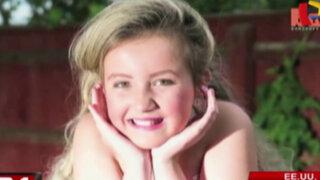 EEUU: mujer convierte a su hija de nueve años en reina de belleza