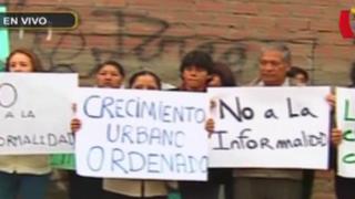 Vecinos de La Molina aterrados por invasiones en cerros: afirman que sufrieron robos