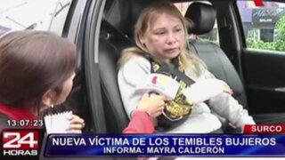 Bujieros cortan brazo a víctima que se resistió al robo de su cartera