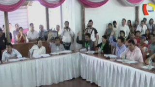 Iquitos: audiencia pública en Maynas terminó en gresca