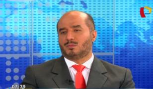 """Pérez Guadalupe sobre armas no letales a serenos:""""No me opuse, falta marco legal y capacitación"""""""