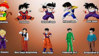 FOTOS : así evolucionaron los personajes de Dragon Ball en los últimos años