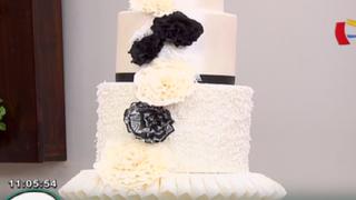 Lorena y Nicolasa: aprende lo último en decoración de tortas para bodas