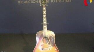 Apareció guitarra que Jhon Lennon perdió en 1963: instrumento será subastado