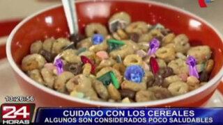 Atención: los cereales procesados son considerados perjudiciales para la salud