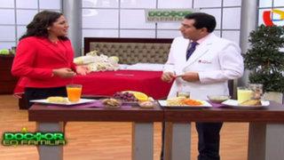 Doctor en Familia : ¿Cómo debe ser la alimentación del adulto mayor?