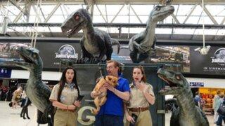 Jurassic World: así se promociona la cinta en Londres a pocas horas de su estreno