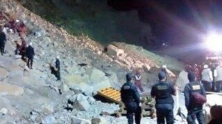 Churín: Familiares de víctima de miniván denuncian negligencia