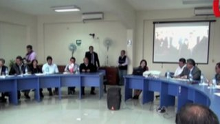 Mayoría de alcaldes distritales de Lima no acude a reunión por seguridad ciudadana