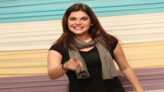 Está Cantado : Giovanna Valcárcel improvisó una divertida canción