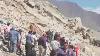 Tragedia en Churín: fallecieron últimos pasajeros que fueron rescatados de vehículo sepultado