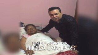Porque hoy es Sábado: el Perú se pondrá de pie por la queridísima Lucila Campos