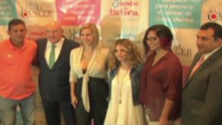 Johanna San Miguel y Mayra Couto apoyan campaña contra el cáncer
