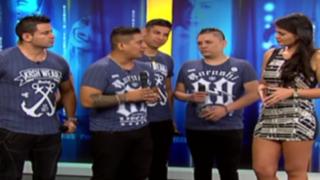 'Luisito' Caycho presenta orquesta: cantante habló sobre situación con Rubí Loo