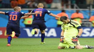 Se cumple un año de la debacle mundialista de España frente a Holanda
