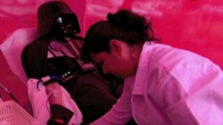Surquillo: personajes de 'Star Wars' se suman a campaña del INEN