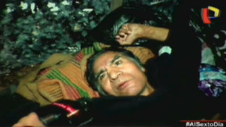 Postrado en la calle: Las tristes noches de Manuelito