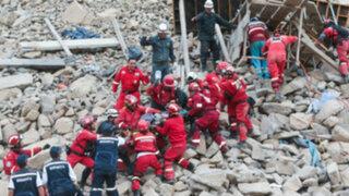 Rescate y dolor: derrumbe en carretera Sayán-Churín