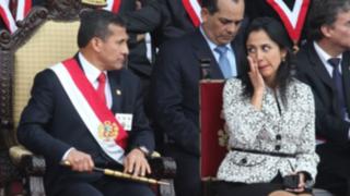 Fuerte caída en la aprobación del presidente Humala y su esposa