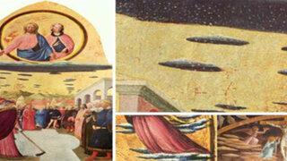 FOTOS : 10 pinturas antiguas en las que aparecen supuestos ovnis