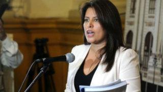Carmen Omonte es vicepresidenta de comisión Lava Jato