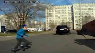 VIDEO : peligroso juego cobra la vida de un adolescente en Siberia