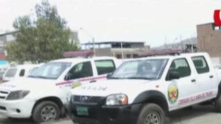 WhatsApp: denuncian que comisaría de VMT tienen dos patrulleros abandonados