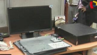 Congreso: roban disco duro de computadoras de Comisión de la Mujer