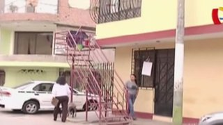 Callao: vecinos de Bocanegra invaden vía pública con sus escaleras