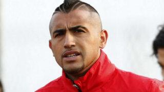 Arturo Vidal vuelve a los entrenamientos de Chile y sería titular ante Perú