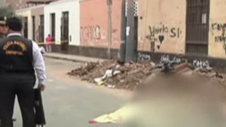 Desconocido asesina a balazos a reciclador en Barrios Altos