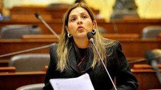 Karina Beteta: suspenden entrega de credenciales a accesitaria de Yovera