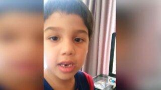 YouTube: el aleccionador mensaje de un niño chileno para Arturo Vidal