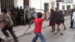 Policías continúan siendo agredidos solo por cumplir con su deber
