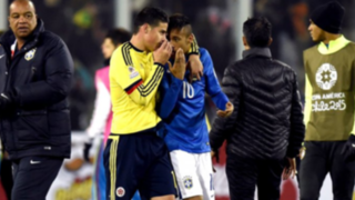 Copa América 2015: ¿Qué le aconsejó James Rodríguez a Neymar en medio de la furia?