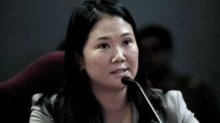 Keiko Fujimori denuncia campaña de desprestigio en su contra