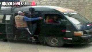WhatsApp: combi circula con exceso de pasajeros en el centro de Abancay