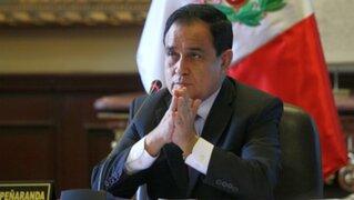 Congresista Fredy Otárola denuncia que taxista le rompió el tabique